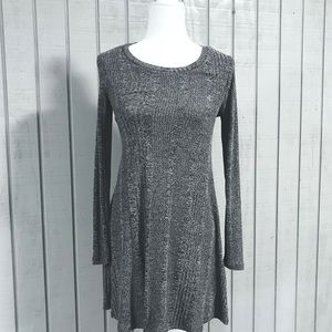 NWOT Forever 21 Grey Knitted Dress Size small